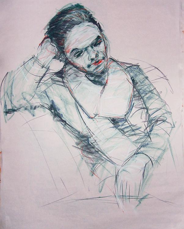 Portrait, Short pose, 15min